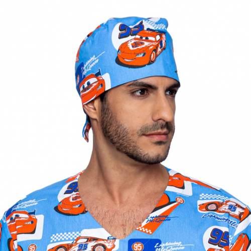 touca masculino relâmpago mcqueen azul