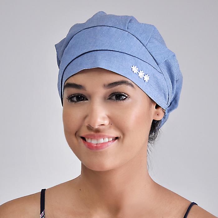 Touca cirúrgica feminina modelo básico FAÍKO Jalecos e93a86e4539