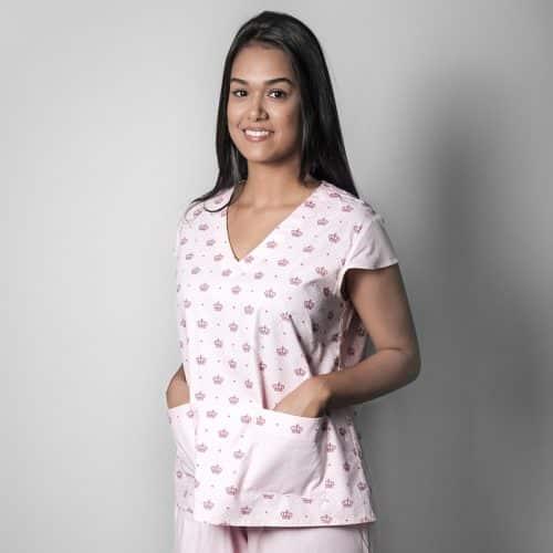 pijama cirúrgico estampado faiko jalecos