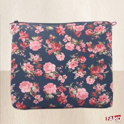 Porta Jaleco Floral Rosa