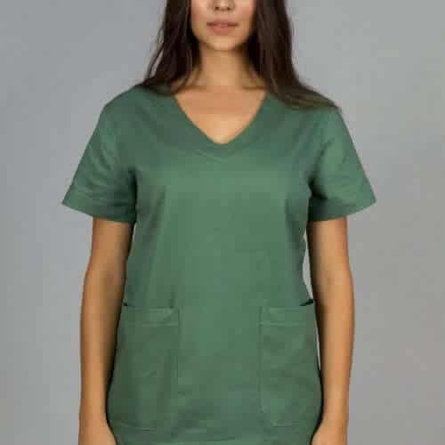 pijama hospitalar feminino verde faiko jalecos