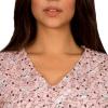 Pijama Cirúrgico Snoopy Rosa