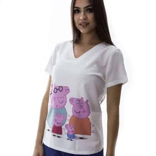 Pijama Hospitalar Peppa Pig 4