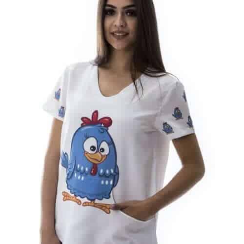 Pijama Hospitalar galinha pintadinha 2