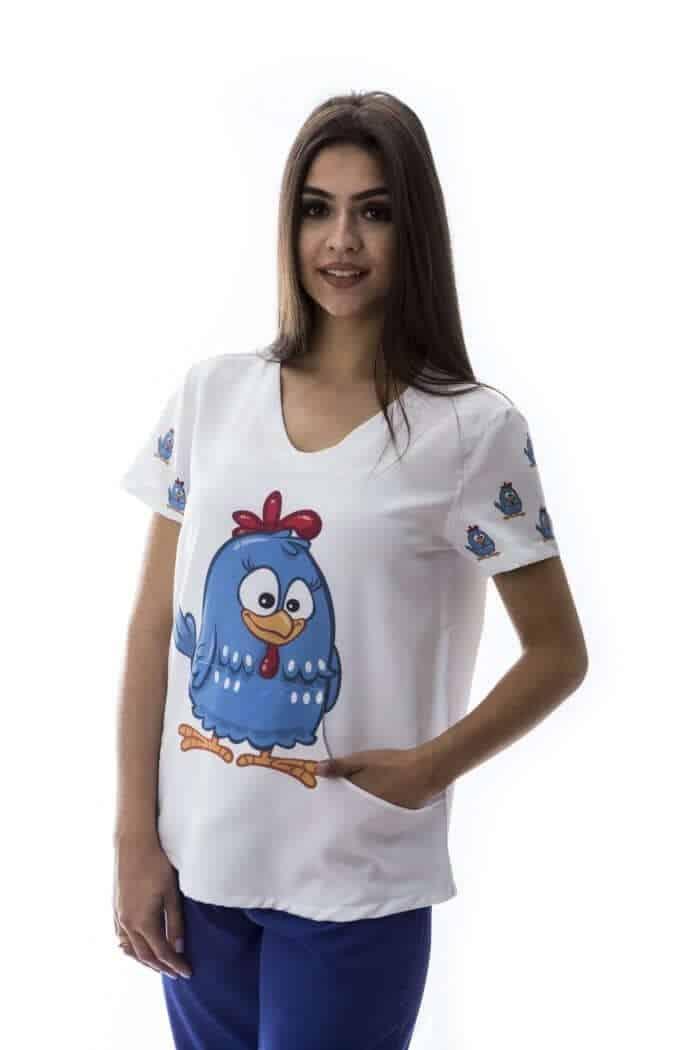 Pijama Centro Cirúrgico Estampado FAÍKO Jalecos