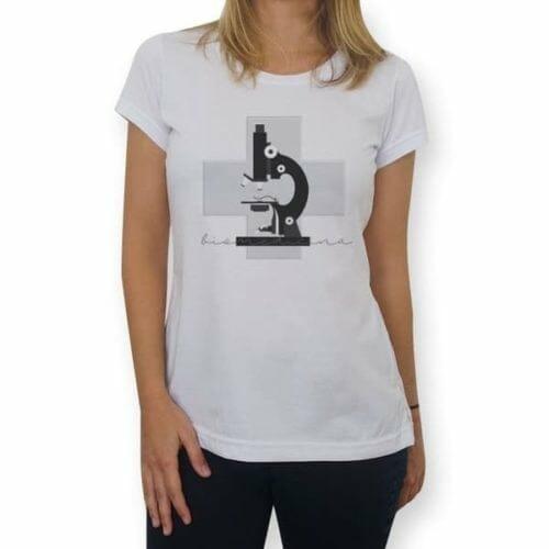 camisa biomedicina microscopio