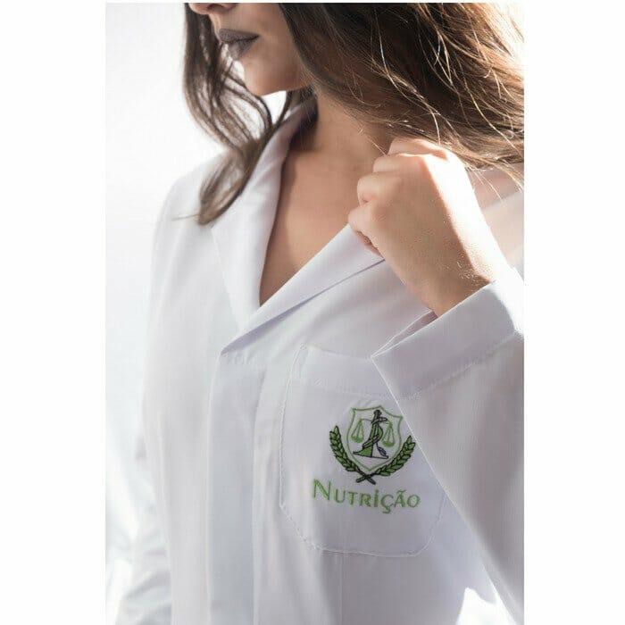 jaleco nutrição feminino personalizado 2