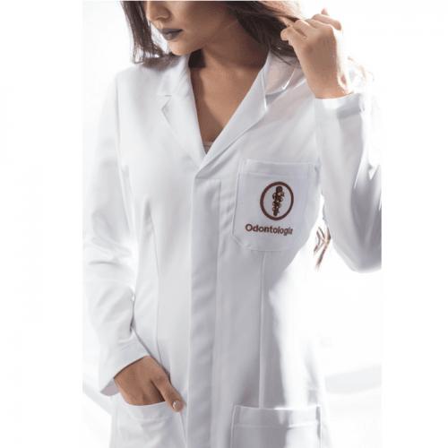 Jaleco odontologia feminino personalizado
