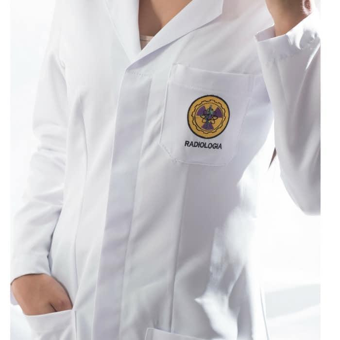 jaleco radiologia feminino personalizado 2