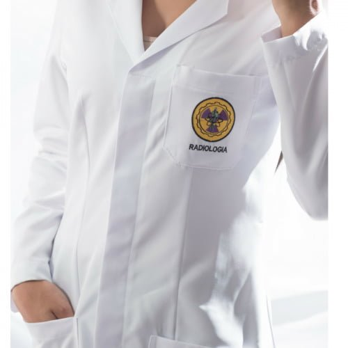 Jaleco Radiologia Feminino Personalizado