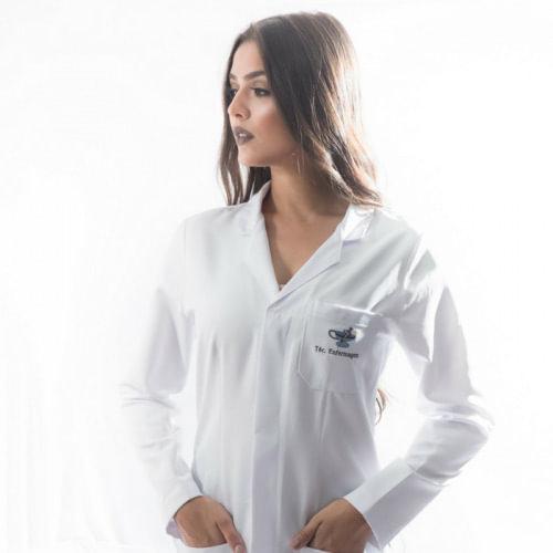 Jaleco técnico em enfermagem feminino masculino