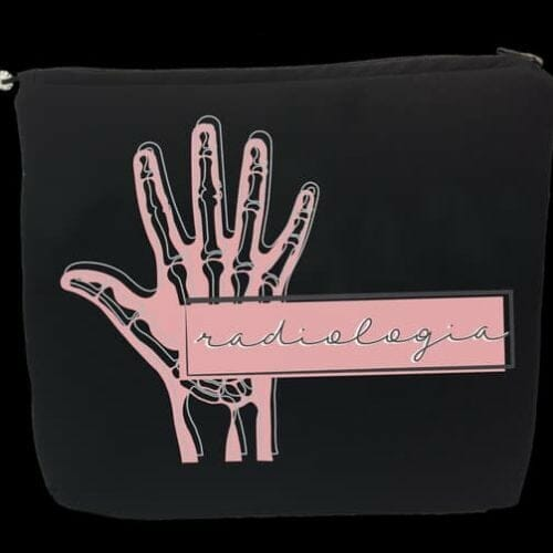Porta-Jaleco Radiologia Rosa