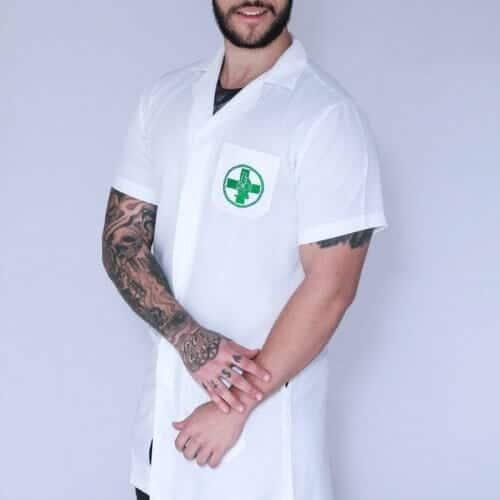 Jaleco Biomedicina masculino FAIKO Jalecos 2