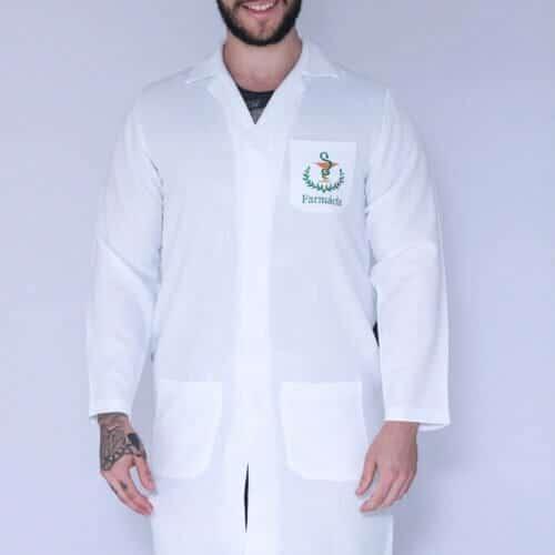 Jaleco Farmácia Masculino FAIKO Jalecos 1