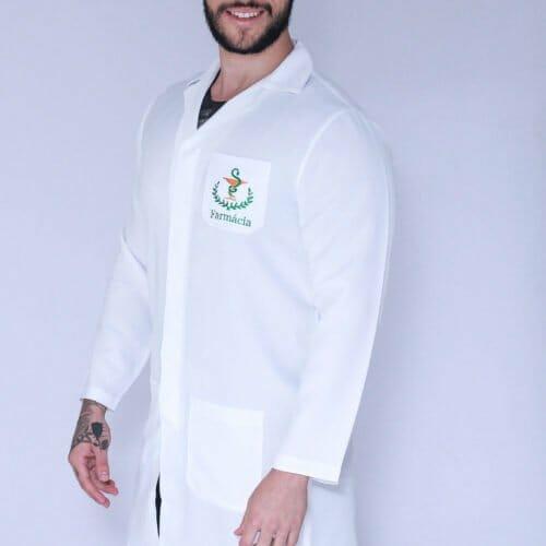 Jaleco Farmácia Masculino FAIKO Jalecos 2