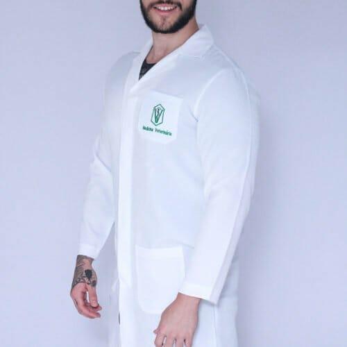 Jaleco Medicina Veterinária Masculino FAIKO Jalecos 1