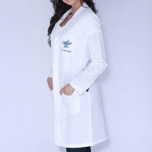 Jaleco Técnico em Enfermagem Manga Longa FAIKO Jalecos 1