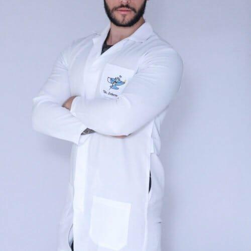 Jaleco Técnico em Enfermagem Masculino Manga Longa 1