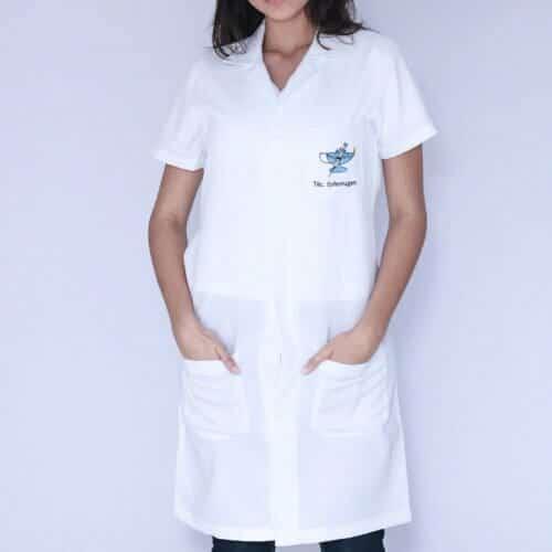 Jaleco feminino técnico em enfermagem FAIKO Jalecos (2)