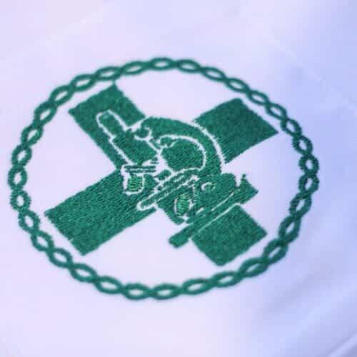 brasão biomedicina faiko jalecos