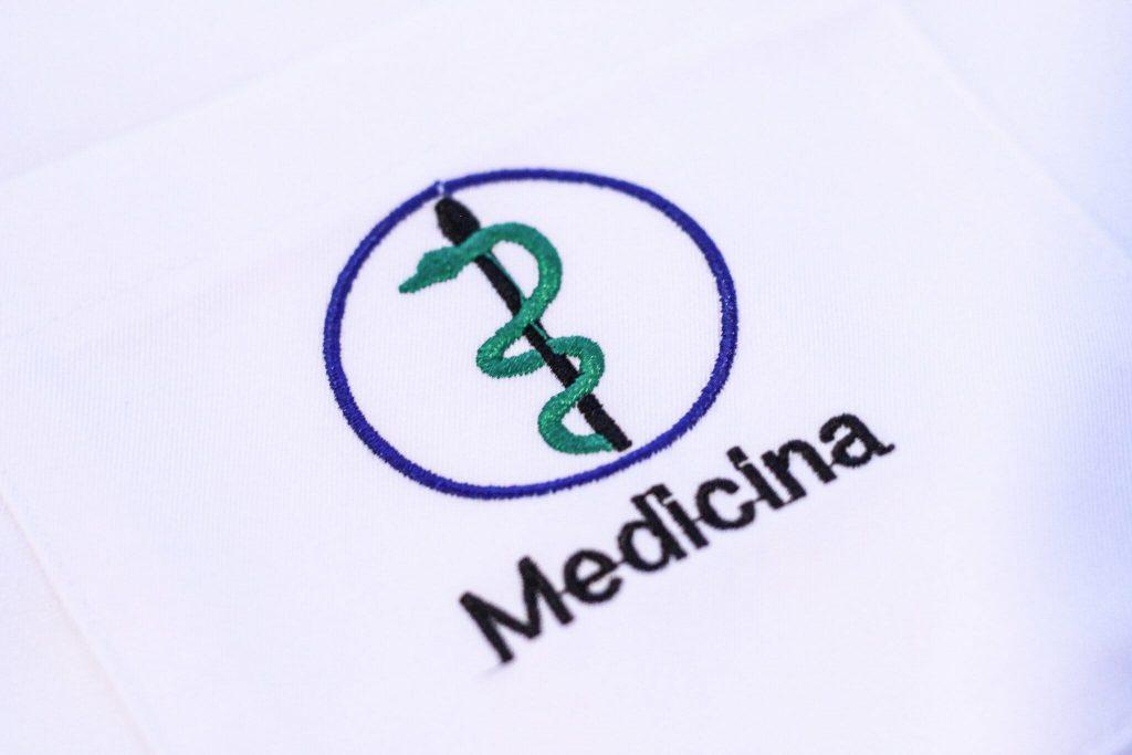 brasão medicina faiko jalecos