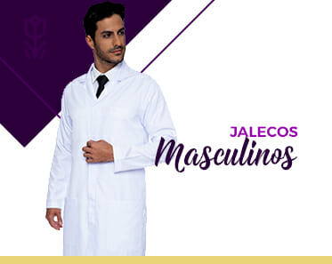 home jalecos masculinos