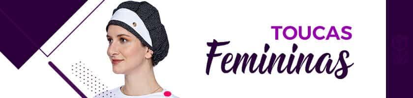 toucas feminina