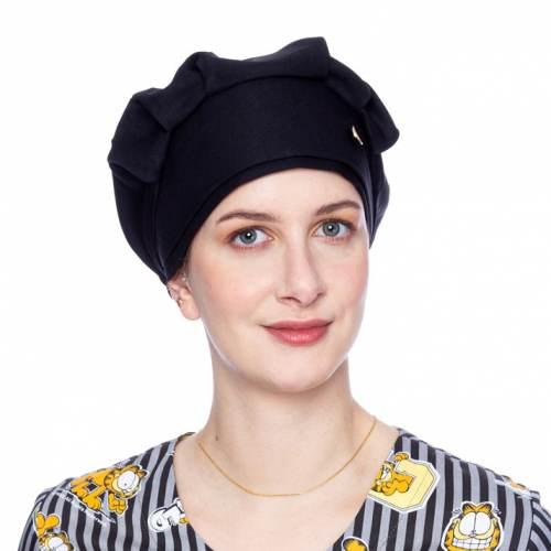 touca feminino preto