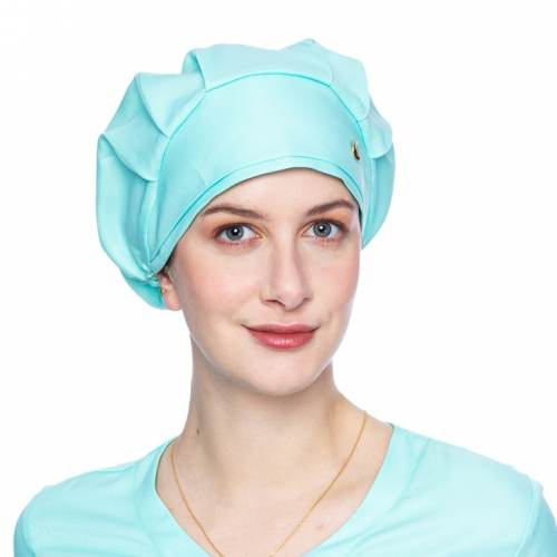 touca feminino verde claro