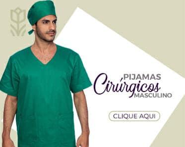 home pijamas cirurgicos masculinos