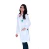 Jaleco Feminino Biomedicina Manga Longa