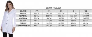 Jaleco Feminino Scarlat